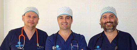 Equipo de anestesistas Anexión